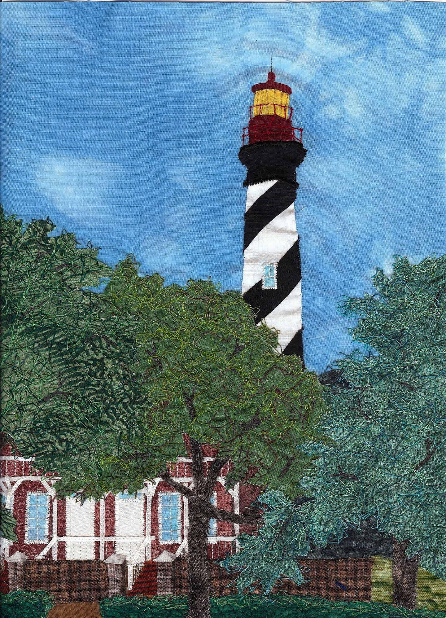 St Augustine lighthouse detail